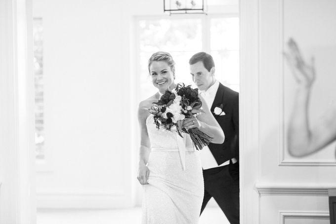 Elegant Country Club Black Tie Wedding by Lilli Kad Photography - 042