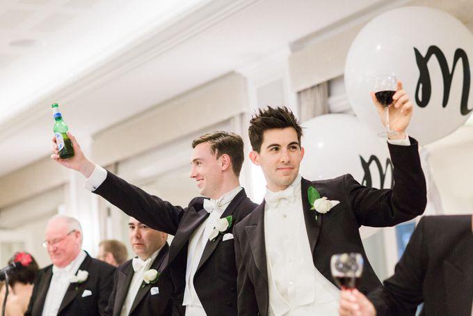 Elegant Country Club Black Tie Wedding by Lilli Kad Photography - 043