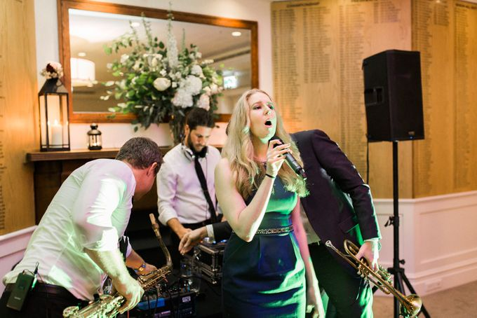Elegant Country Club Black Tie Wedding by Lilli Kad Photography - 048