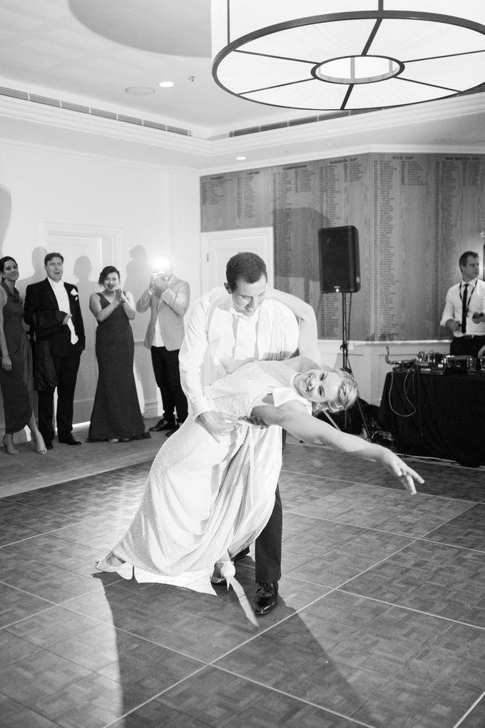 Elegant Country Club Black Tie Wedding by Lilli Kad Photography - 050