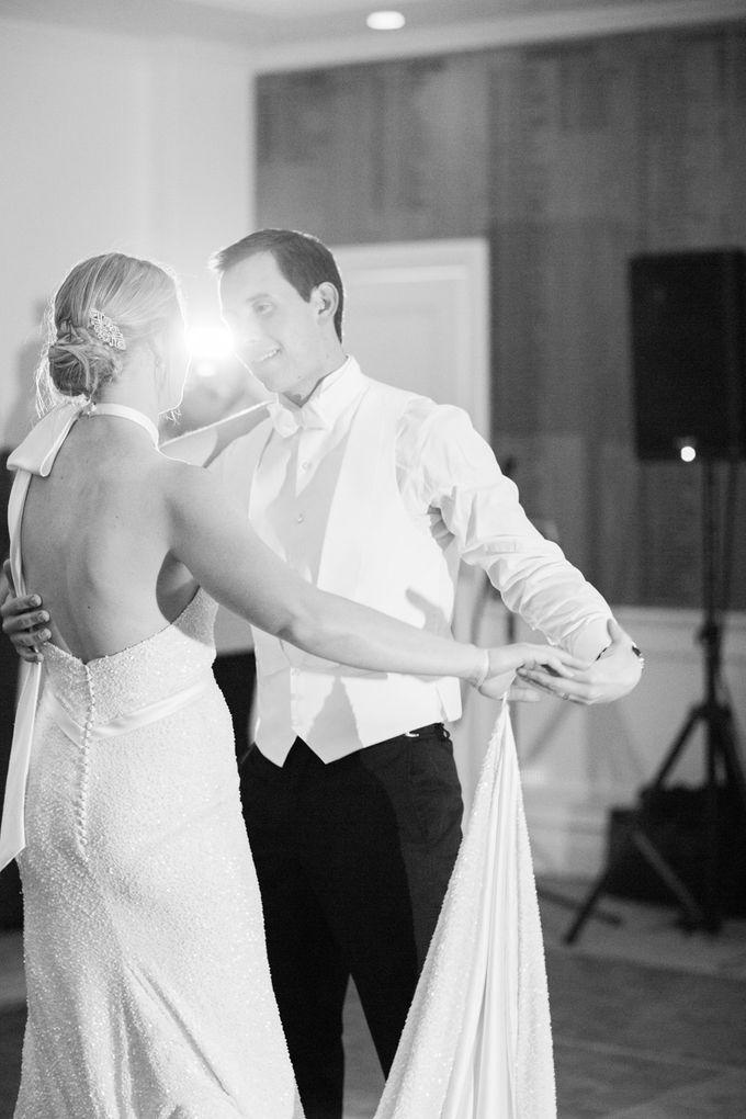 Elegant Country Club Black Tie Wedding by Lilli Kad Photography - 049