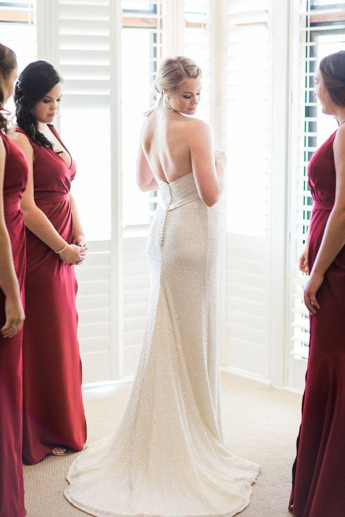 Elegant Country Club Black Tie Wedding by Lilli Kad Photography - 010