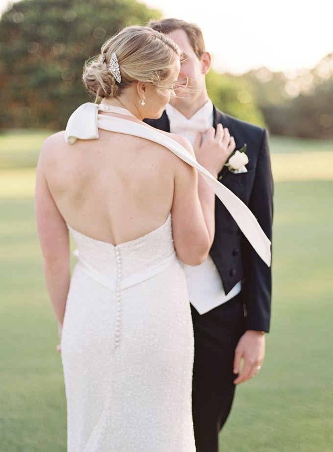 Elegant Country Club Black Tie Wedding by Lilli Kad Photography - 027