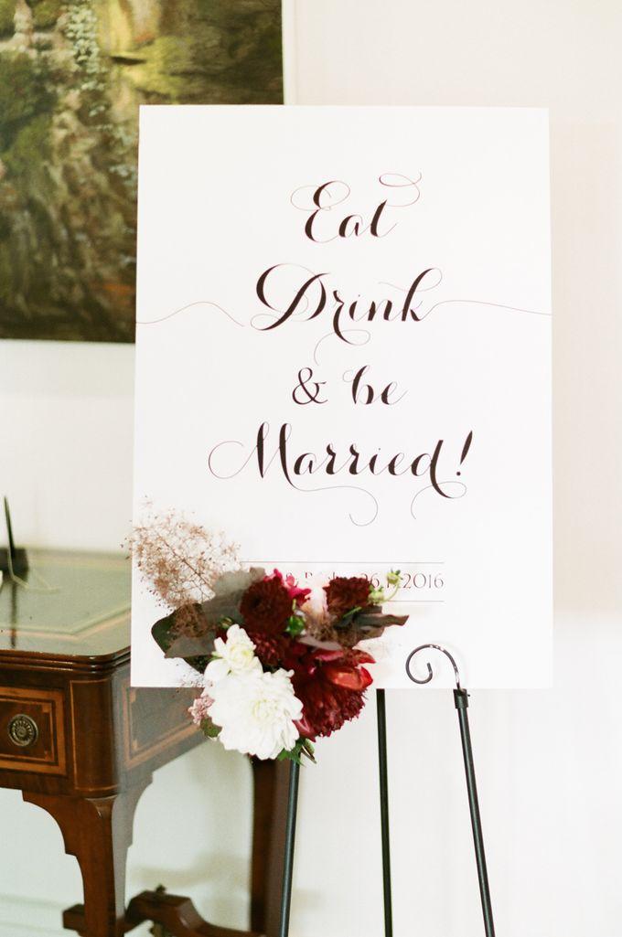 Elegant Country Club Black Tie Wedding by Lilli Kad Photography - 030