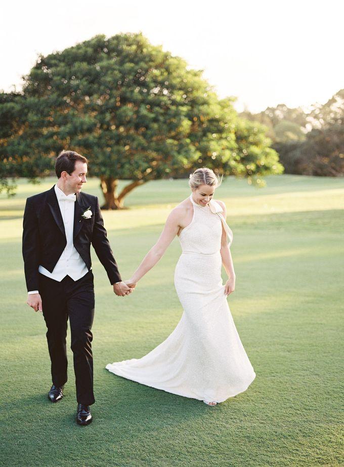 Elegant Country Club Black Tie Wedding by Lilli Kad Photography - 025