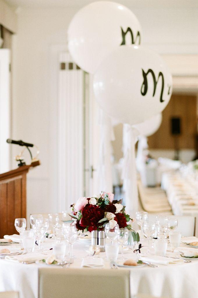 Elegant Country Club Black Tie Wedding by Lilli Kad Photography - 036
