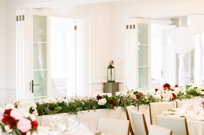 Elegant Country Club Black Tie Wedding by Lilli Kad Photography - 037