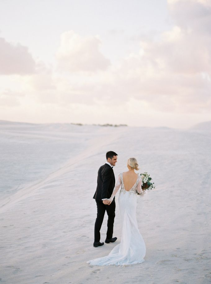 Elopement in the Dunes by Katie Grant Photography - 002