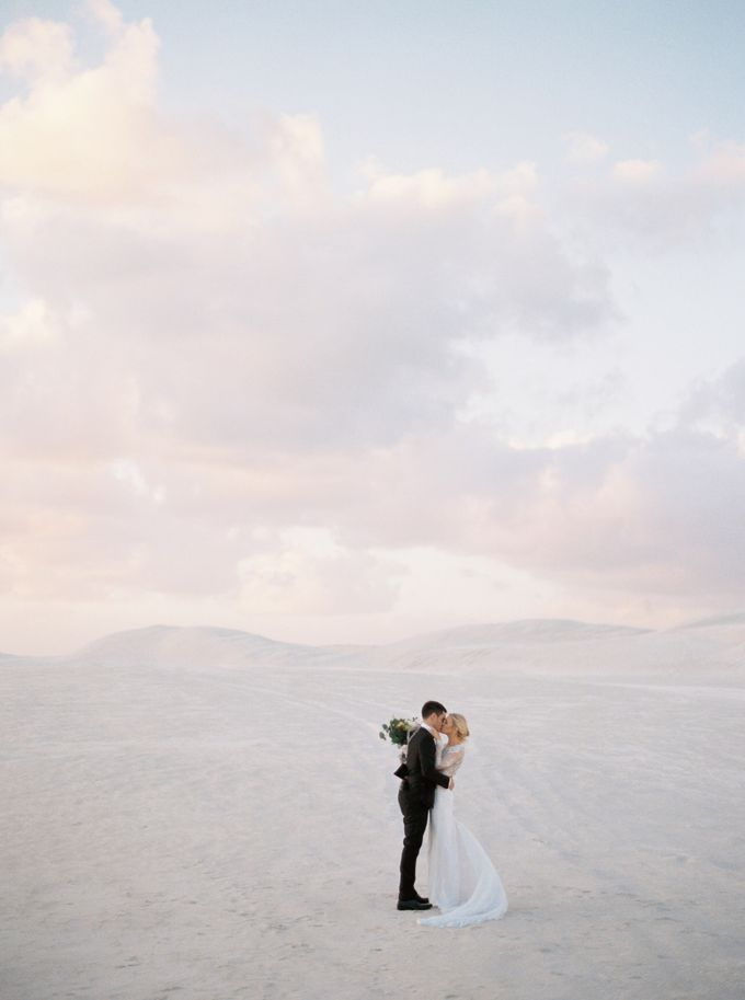 Elopement in the Dunes by Katie Grant Photography - 003