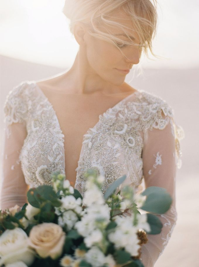 Elopement in the Dunes by Katie Grant Photography - 004