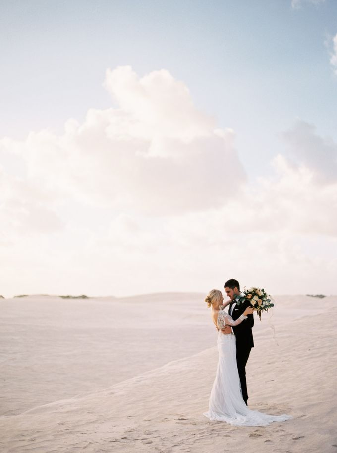 Elopement in the Dunes by Katie Grant Photography - 008