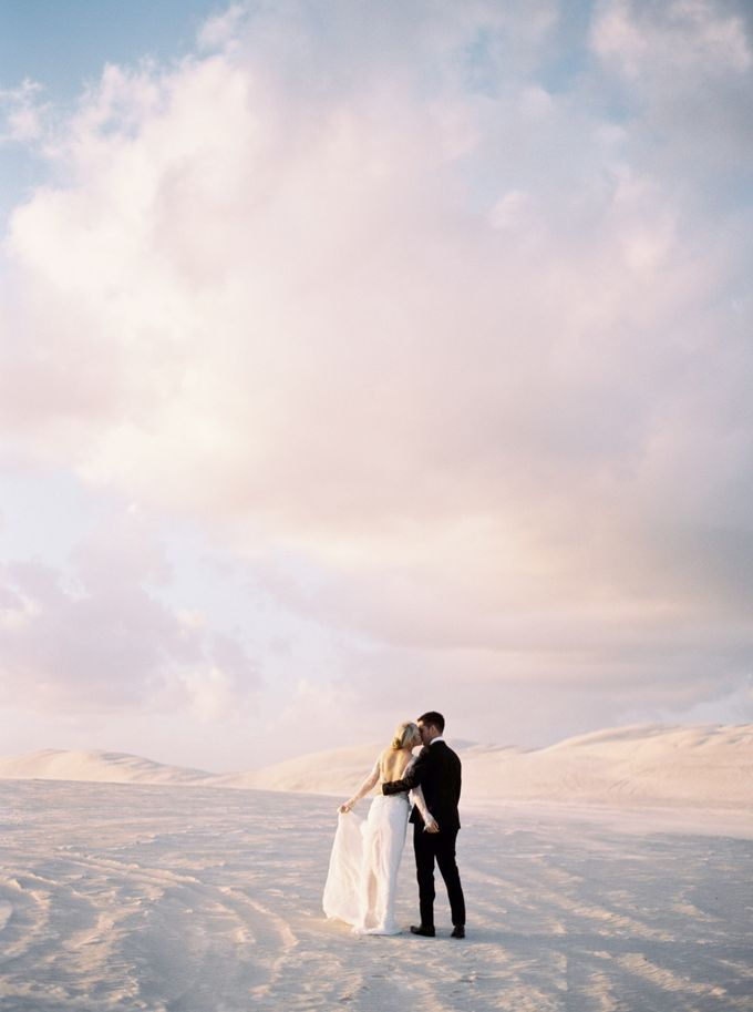 Elopement in the Dunes by Katie Grant Photography - 012