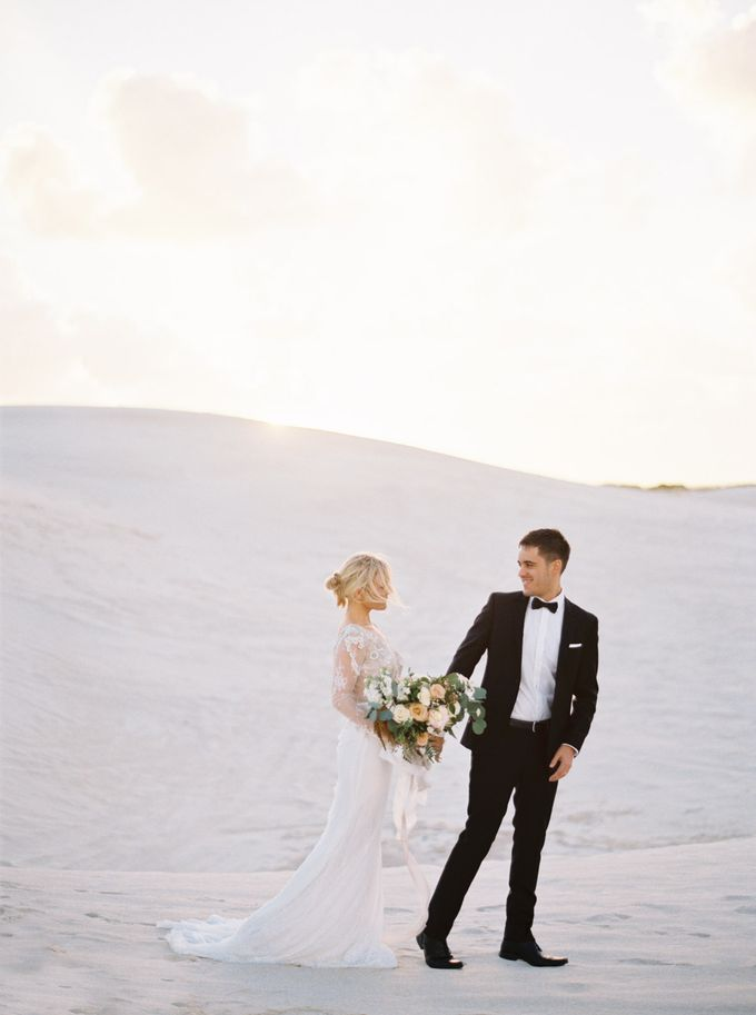 Elopement in the Dunes by Katie Grant Photography - 001