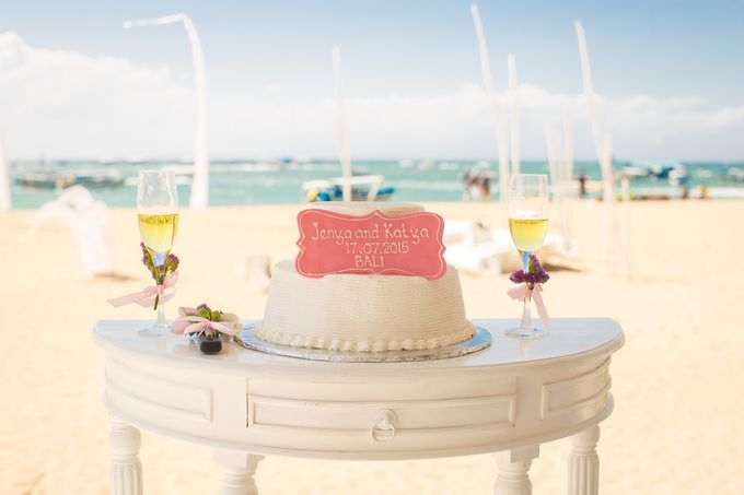 Beach wedding by Bali Angels - 014