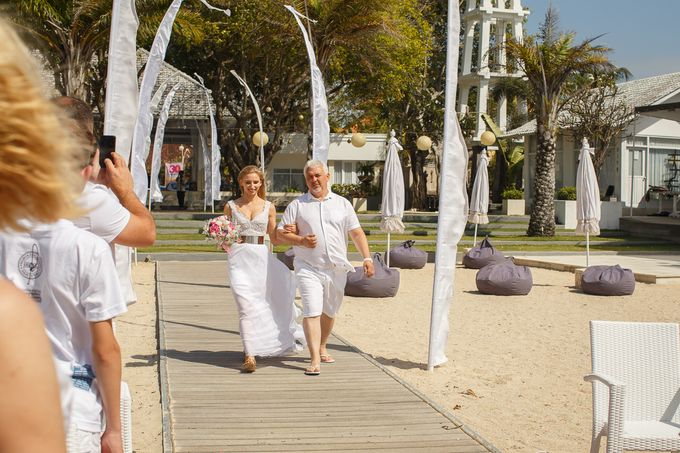 Beach wedding by Bali Angels - 023
