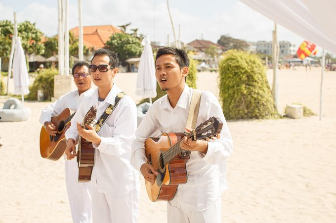 Beach wedding by Bali Angels - 029