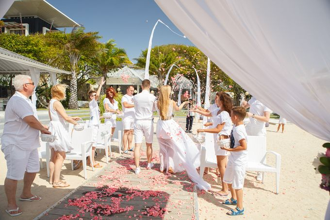 Beach wedding by Bali Angels - 033