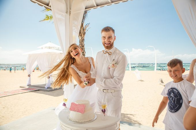 Beach wedding by Bali Angels - 047
