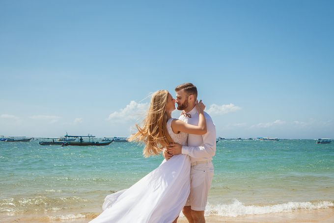 Beach wedding by Bali Angels - 050