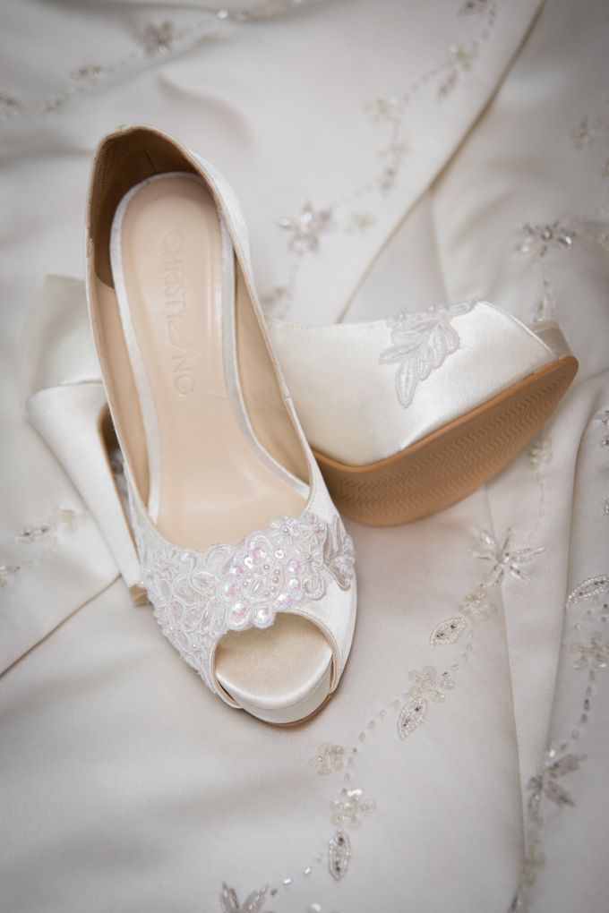 Bridal Shoe Close Ups by Christy Ng Shoes - 038