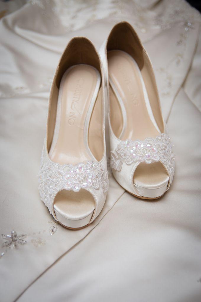 Bridal Shoe Close Ups by Christy Ng Shoes - 037