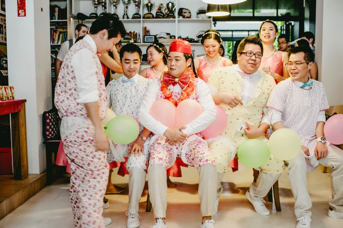 Lush Tropical Garden Wedding by Chere Weddings & Parties - 005