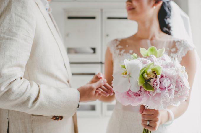 Lush Tropical Garden Wedding by Chere Weddings & Parties - 006