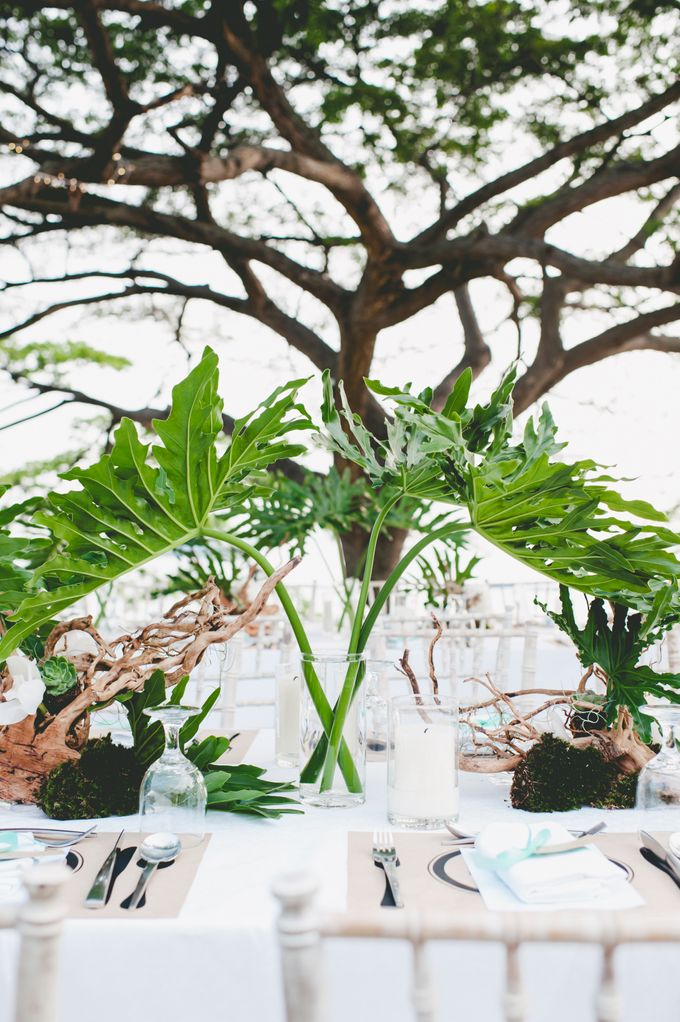 Lush Tropical Garden Wedding by Chere Weddings & Parties - 012