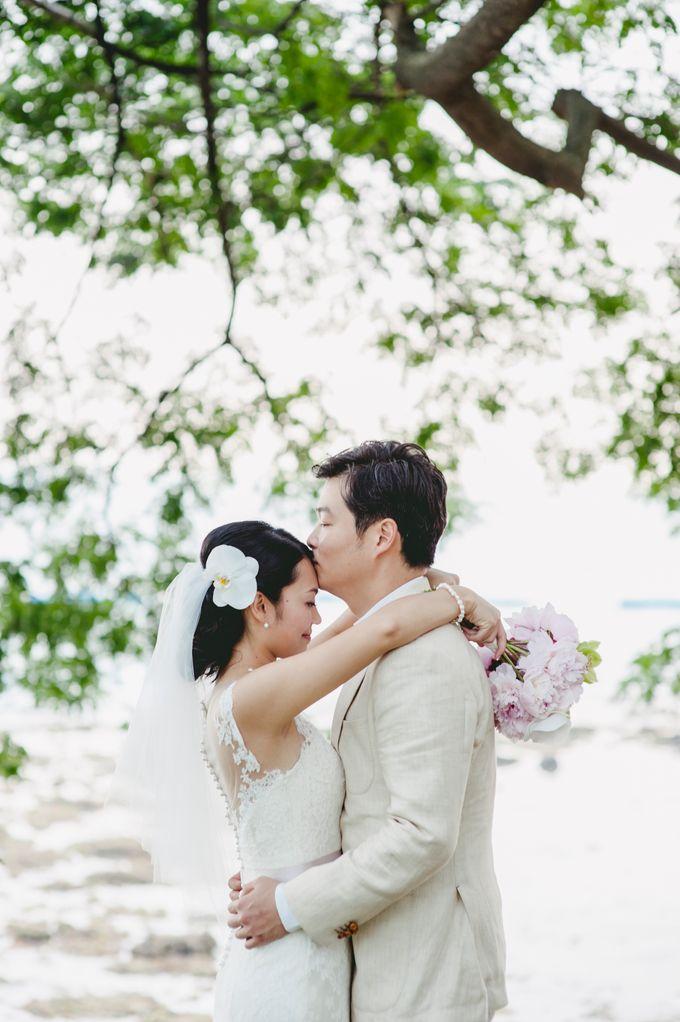 Lush Tropical Garden Wedding by Chere Weddings & Parties - 013