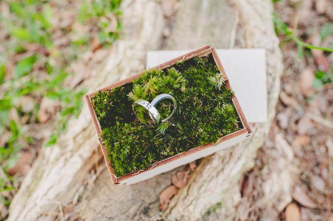 Lush Tropical Garden Wedding by Chere Weddings & Parties - 014