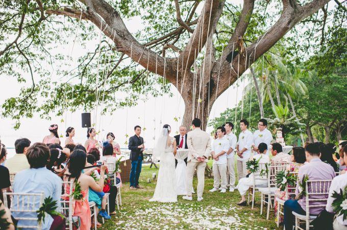 Lush Tropical Garden Wedding by Chere Weddings & Parties - 016