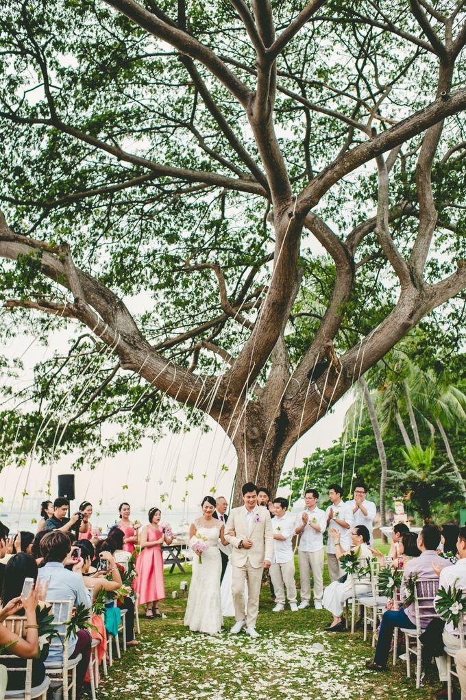 Lush Tropical Garden Wedding by Chere Weddings & Parties - 018