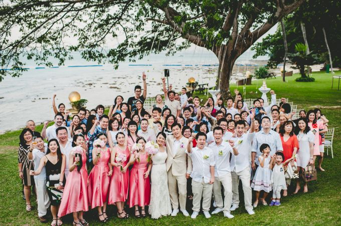 Lush Tropical Garden Wedding by Chere Weddings & Parties - 017