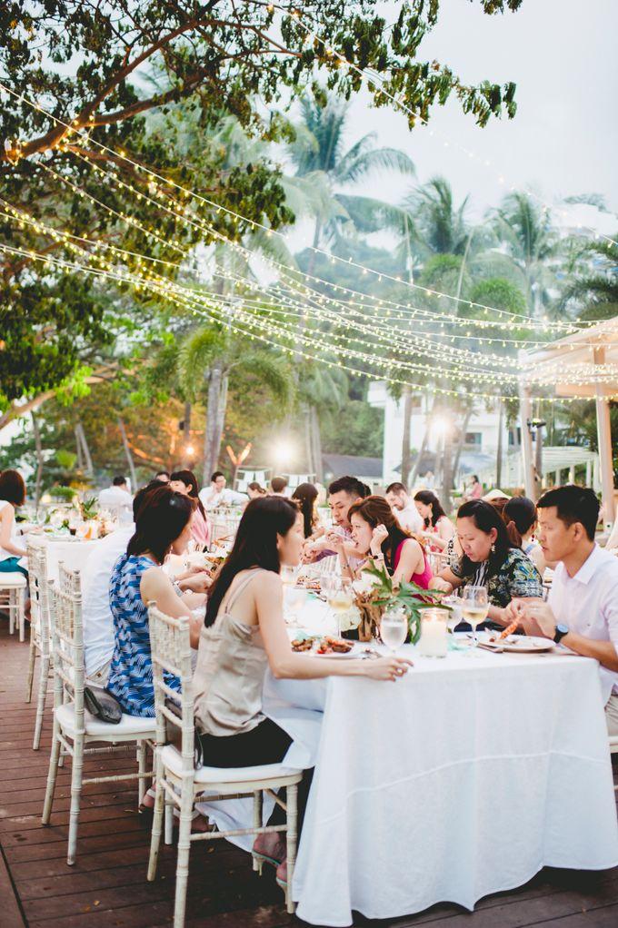 Lush Tropical Garden Wedding by Chere Weddings & Parties - 019