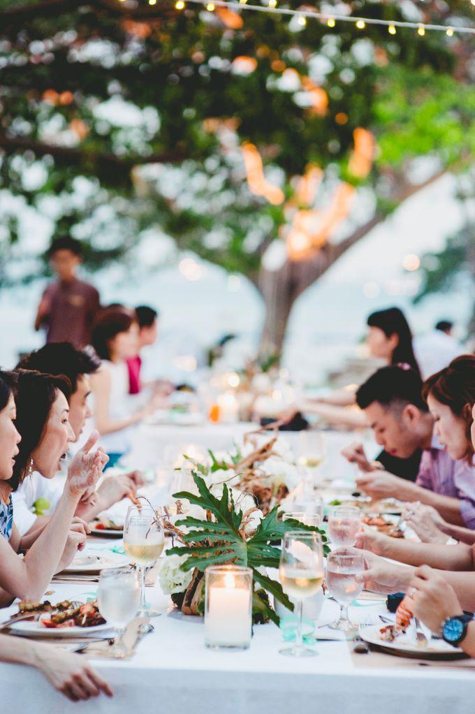 Lush Tropical Garden Wedding by Chere Weddings & Parties - 020