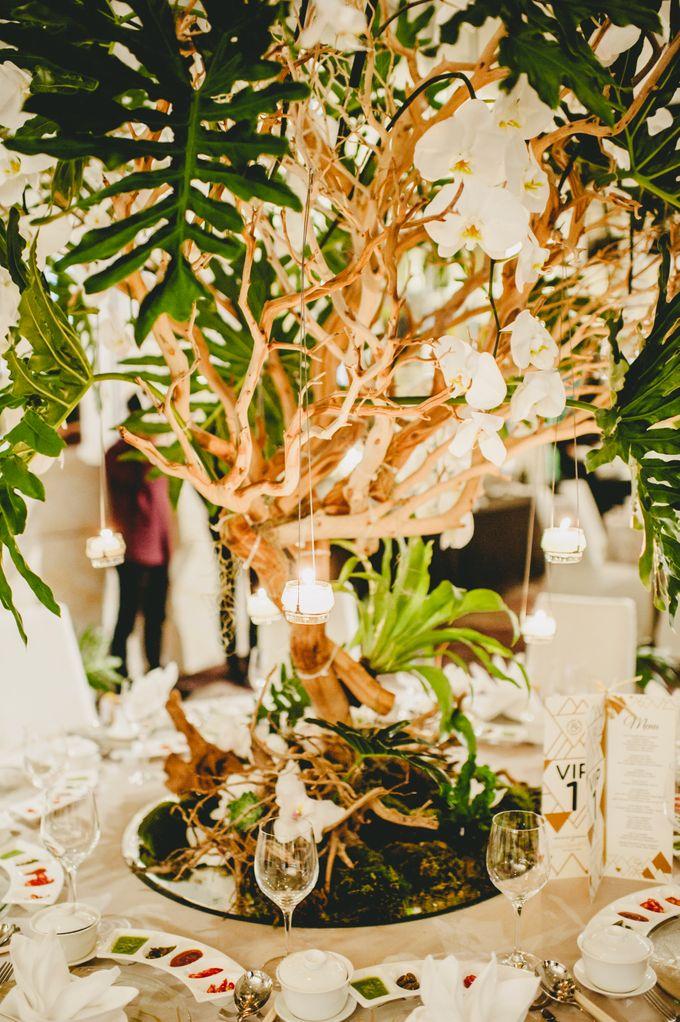 Lush Tropical Garden Wedding by Chere Weddings & Parties - 024