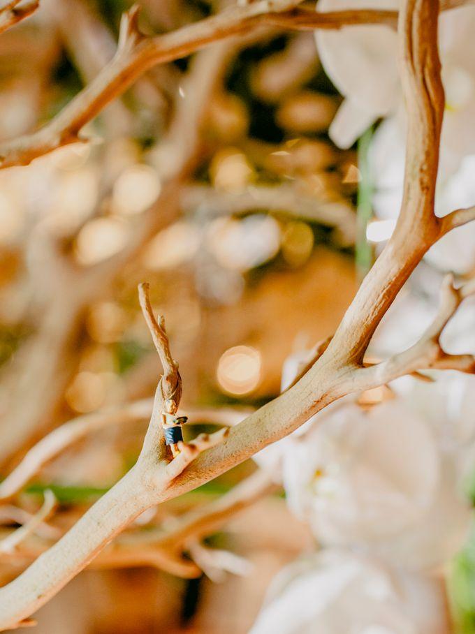 Lush Tropical Garden Wedding by Chere Weddings & Parties - 025
