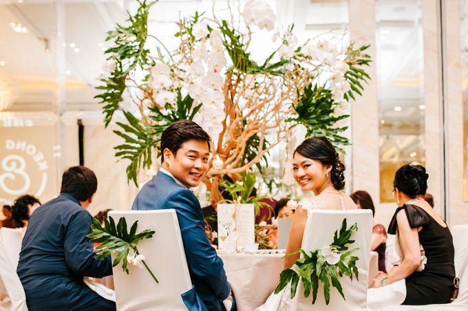 Lush Tropical Garden Wedding by Chere Weddings & Parties - 027