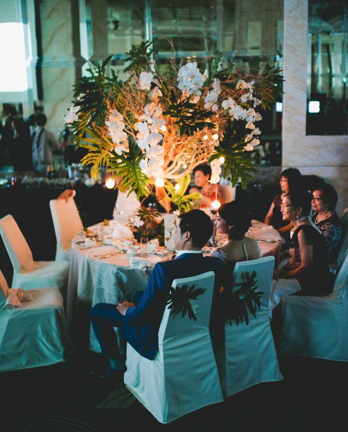 Lush Tropical Garden Wedding by Chere Weddings & Parties - 028