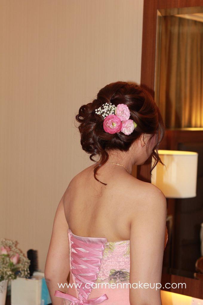 Brides Actual Day by Carmen Makeup & Hair - 010