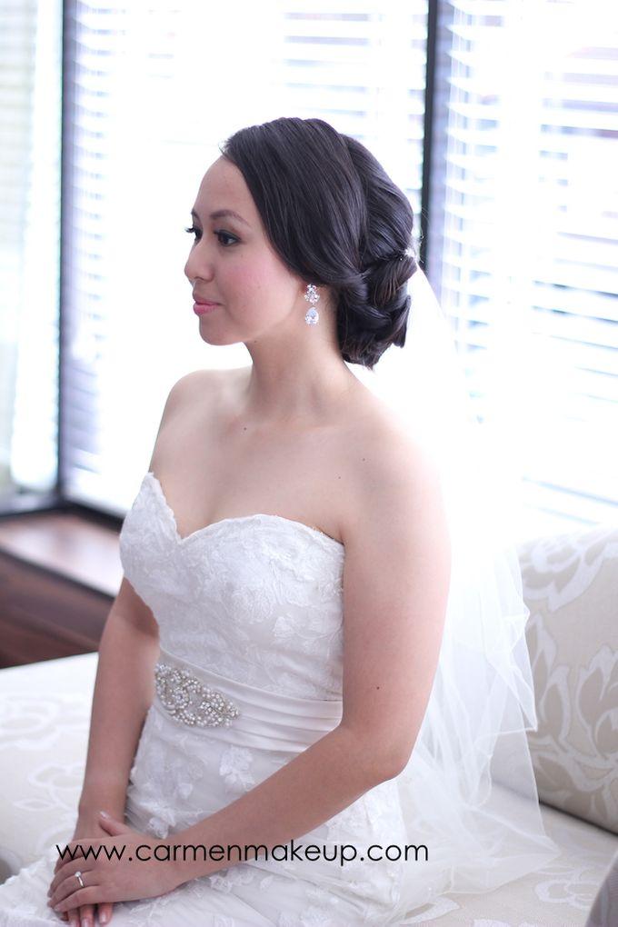 Brides Actual Day by Carmen Makeup & Hair - 011