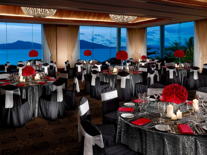 Indoor Wedding by Shangri-La's Tanjung Aru Resort & Spa - 001
