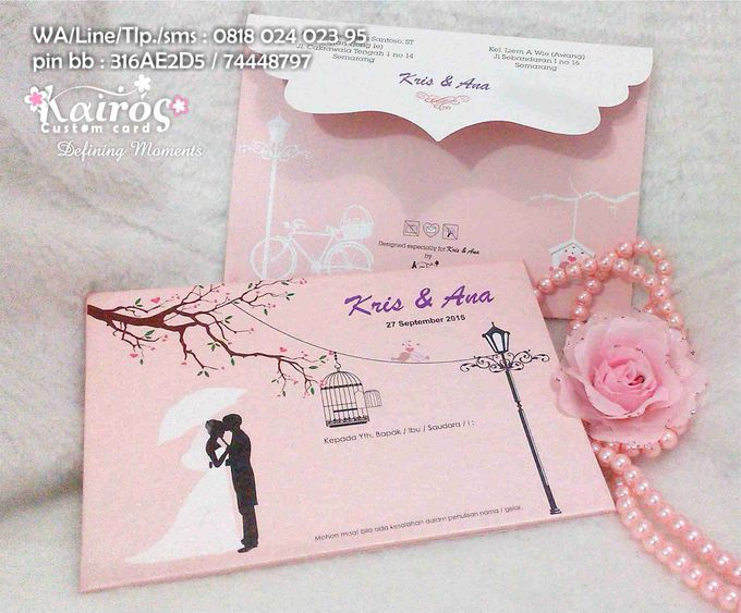 Wedding Invitation by Kairos Wedding Invitation - 004