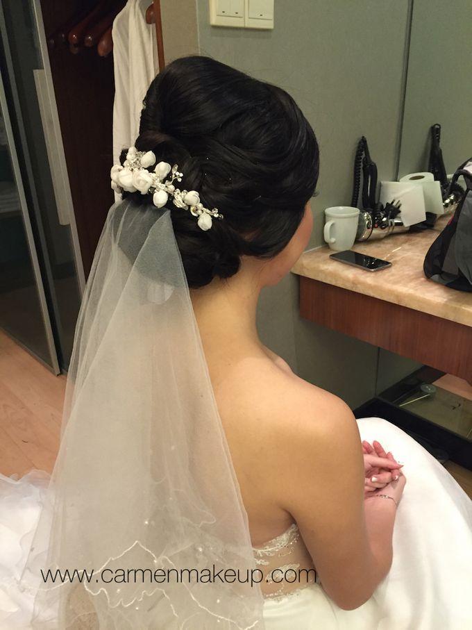 Brides Actual Day by Carmen Makeup & Hair - 022