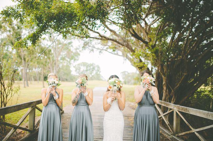 Kylies Bridesmaids in Dark Platinum by Goddess By Nature - 001