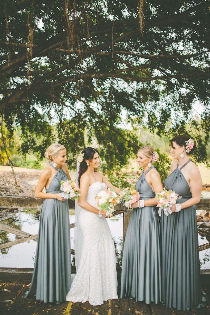 Kylies Bridesmaids in Dark Platinum by Goddess By Nature - 002