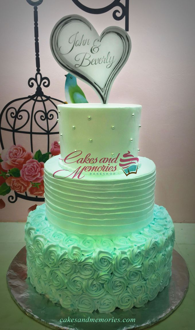Three Layer Cakes by Cakes and Memories Bakeshop - 009