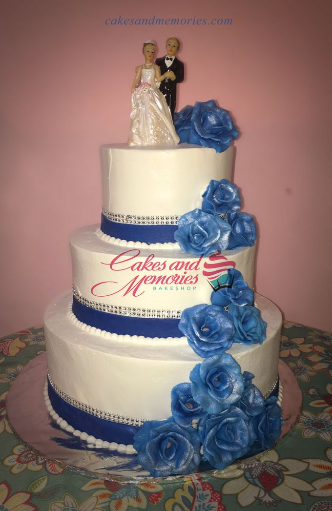 Three Layer Cakes by Cakes and Memories Bakeshop - 013