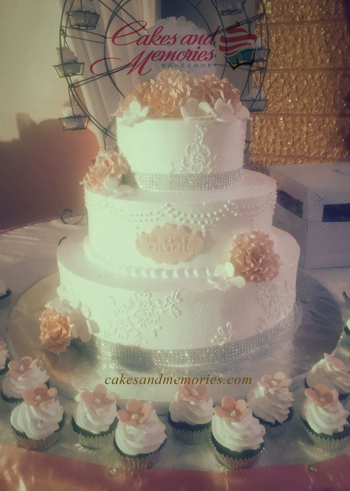 Three Layer Cakes by Cakes and Memories Bakeshop - 015
