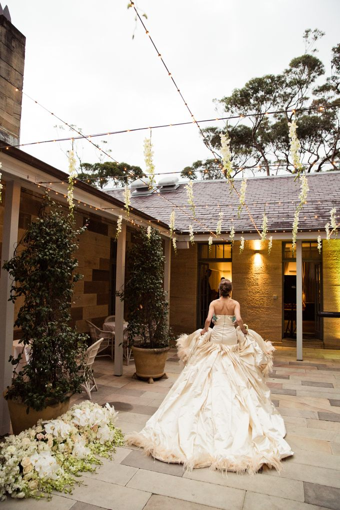 Elegant Wedding at Gunner Barracks by Couture Wedding Planning - 011